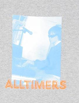 CAMISETA ALLTIMERS MUSIC TEE GRIS